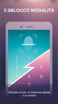 Blocco App Con Impronta Digitale & Password screenshot 3