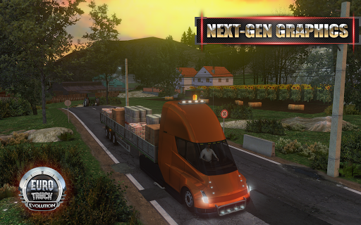Euro Truck Evolution (Simulator) screenshot 1