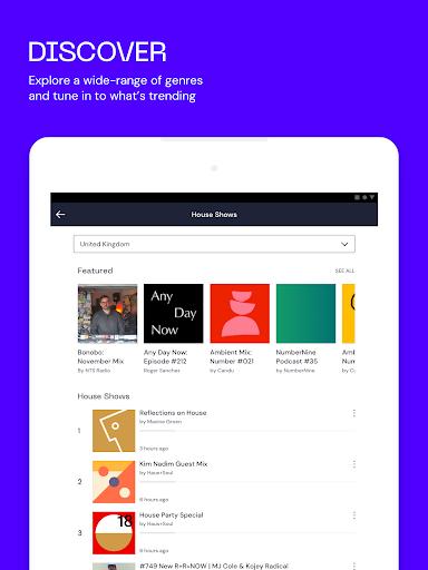 Mixcloud - Radio- & DJ-Mixes screenshot 9