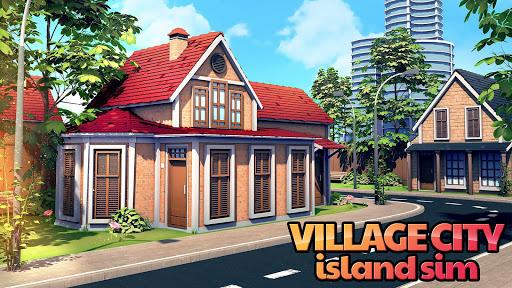 Trò chơi Thành phố Làng Đảo Village Simulation screenshot 1