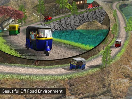 Tuk Tuk Auto Rickshaw Offroad Driving Games 2020 screenshot 17