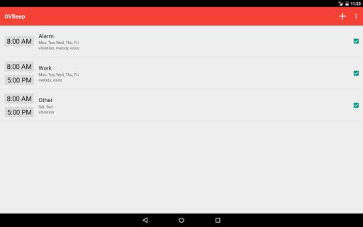 Konuşan Saat ve Alarm DVBeep screenshot 10