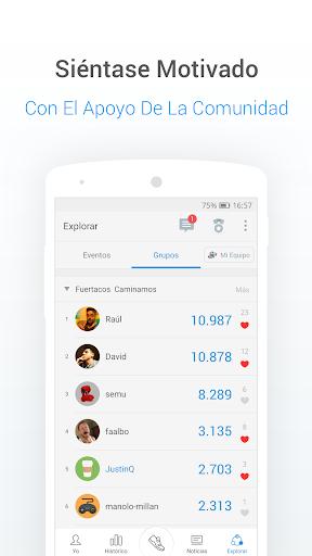 Podómetro gratis - Contador de Pasos y Calorías screenshot 6