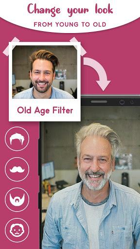 Old Age Face effects App: Face Changer Gender Swap screenshot 3