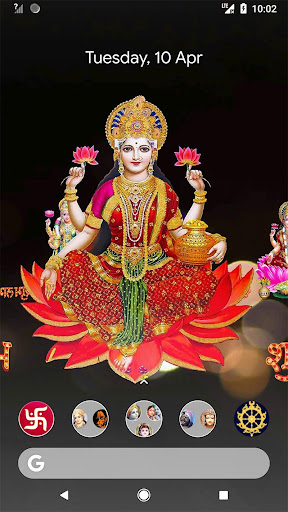 4D Lakshmi Live Wallpaper screenshot 1