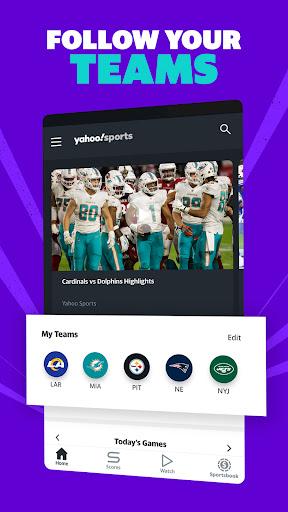 Yahoo Sports: Get live sports news & scores screenshot 2