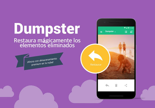 Papelera de reciclaje Dumpster screenshot 10