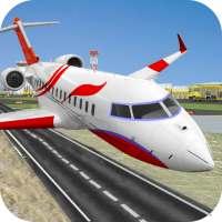 Uçan Uçak Simülatörü Çevrimdışı - Uçak oyunları on 9Apps