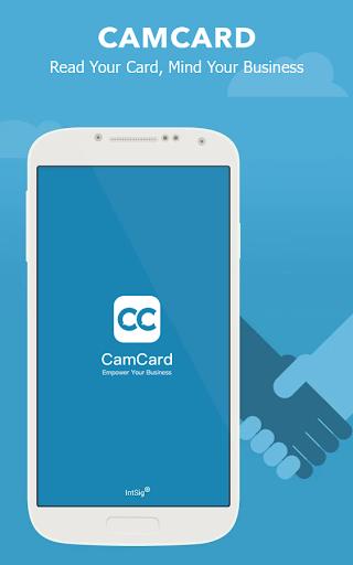 CamCard - Business Card Reader скриншот 1