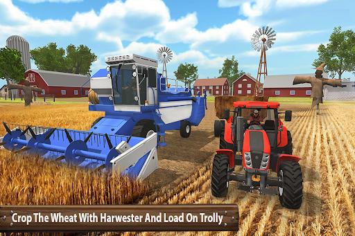 ซิมเกษตรรถแทรกเตอร์อินทรีย์: การเก็บเกี่ยวขนาดใหญ่ screenshot 6