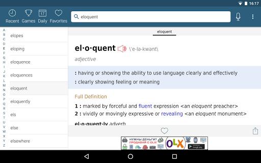 Dictionary - Merriam-Webster स्क्रीनशॉट 16