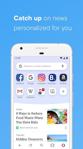 Opera browser beta screenshot 2