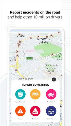 Navegação GPS ao vivo, mapas, direções e explorar screenshot 4