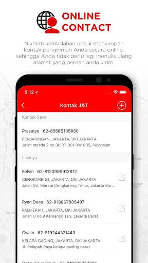 J&T Express Indonesia 4 تصوير الشاشة