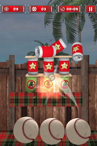 Tin Can Smasher - Hit & Knock Down Ball Shooter 3D screenshot 2