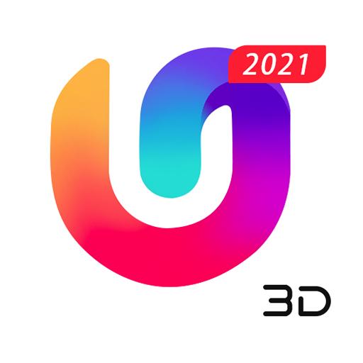 U Launcher 3D: Nouveau Launcher 2020, thèmes 3D icon