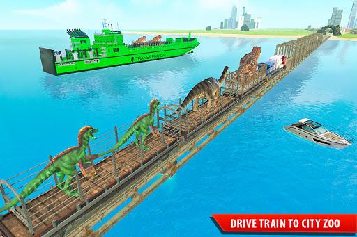 Train Simulator 2021: Rescue Dinosaur Transport screenshot 10