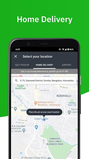 Zoomcar - Sanitized Self-drive car rental service screenshot 3