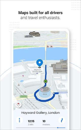 Navegação GPS ao vivo, mapas, direções e explorar screenshot 18