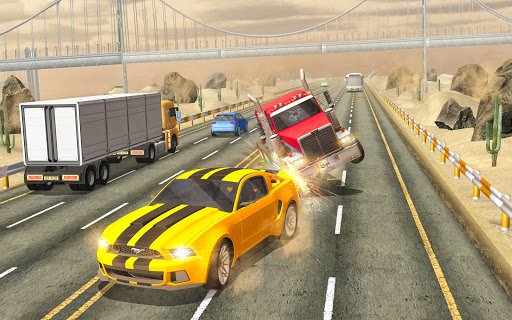 Real Highway Car Racing Games- New Car Games 2021 screenshot 3