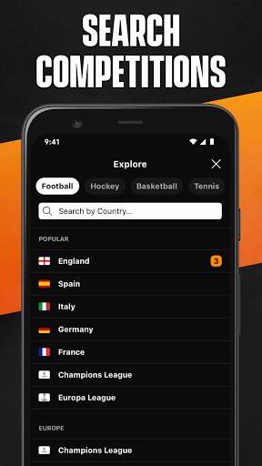 LiveScore: Live Sports Scores screenshot 8
