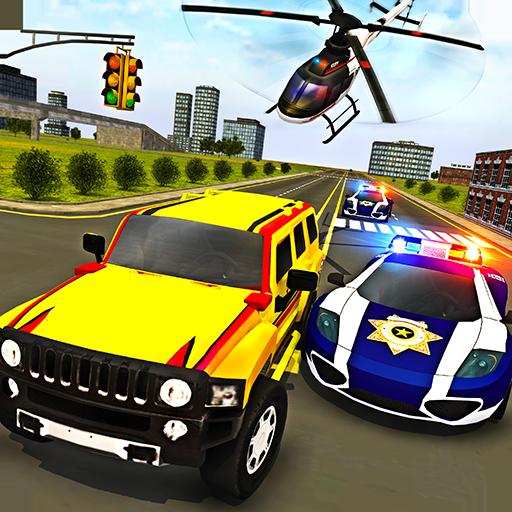 Police Chase Prado Escape Plan icon