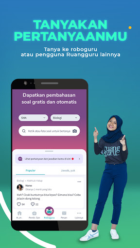 Ruangguru: Belajar & Bimbel Online SD SMP SMA UTBK screenshot 4