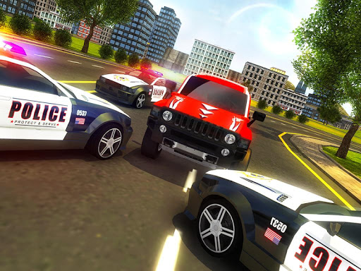 Police Chase Prado Escape Plan screenshot 8