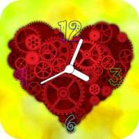Heart Clock Live Wallpaper on APKTom