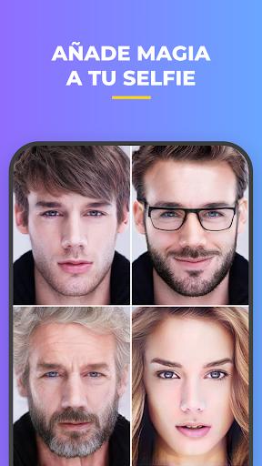 FaceApp: Editor facial, de maquillaje y belleza screenshot 8