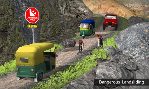 Tuk Tuk Auto Rickshaw Offroad Driving Games 2020 screenshot 7