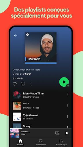 Spotify: musique et podcasts screenshot 5