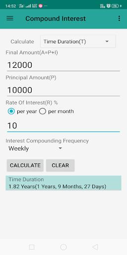 Interest Calculator screenshot 7