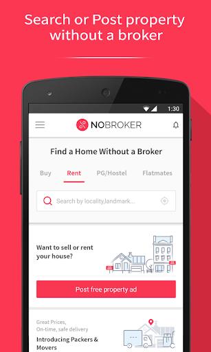 NoBroker Flat, Apartment, House, Rent, Buy & Sell screenshot 1