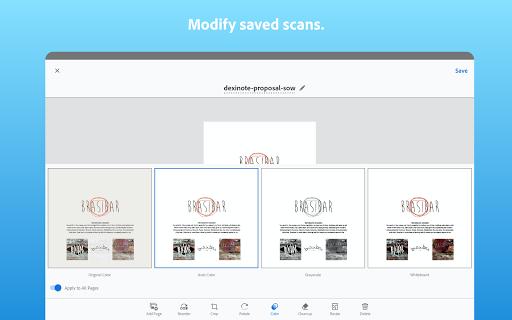Adobe Scan: PDF Scanner with OCR, PDF Creator screenshot 14