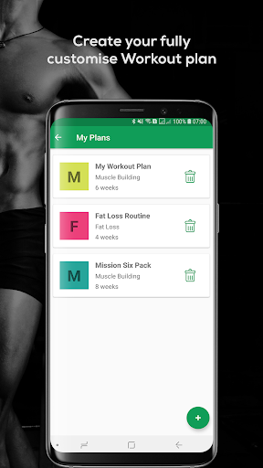 Fitvate - Home & Gym Workout Trainer Fitness Plans screenshot 8