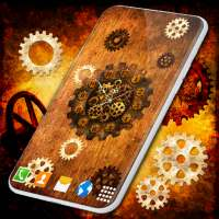 Steampunk Clock Wallpaper ⚙️ Retro Live Wallpapers on 9Apps