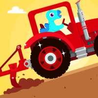 Ladang Dinosaurus - Game untuk anak-anak on 9Apps
