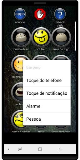 Efeitos Sonoros screenshot 2