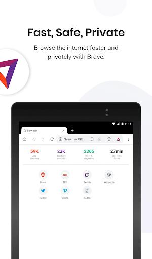 Brave Browser: szybka, bezpieczna, prywatna screenshot 6