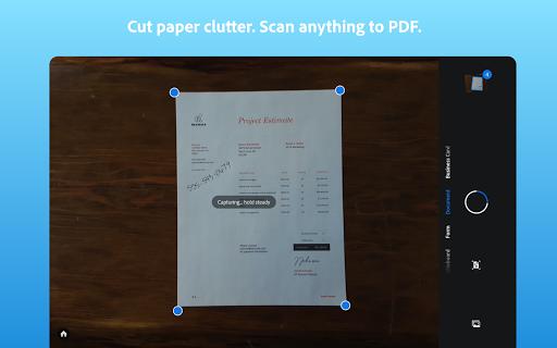 Adobe Scan: PDF Scanner with OCR, PDF Creator screenshot 9