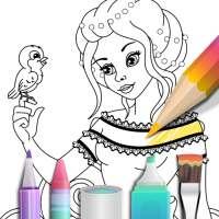 Princess coloring book on APKTom