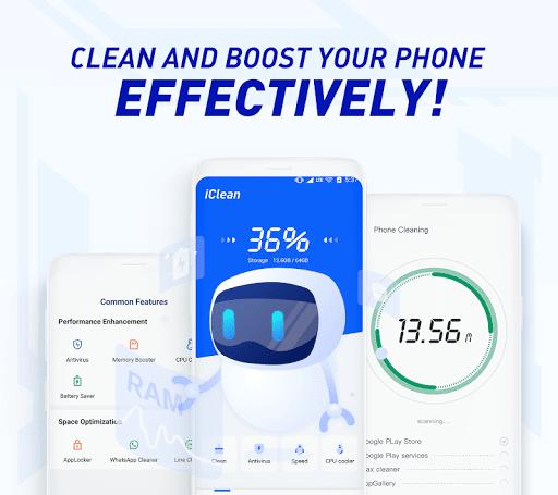 iClean - Booster, Super Virus Cleaner, Master screenshot 1