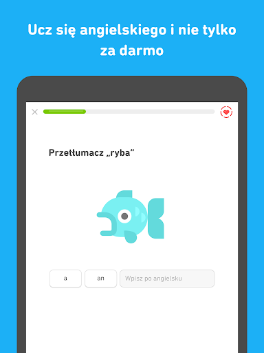 Angielski za darmo z Duolingo screenshot 8