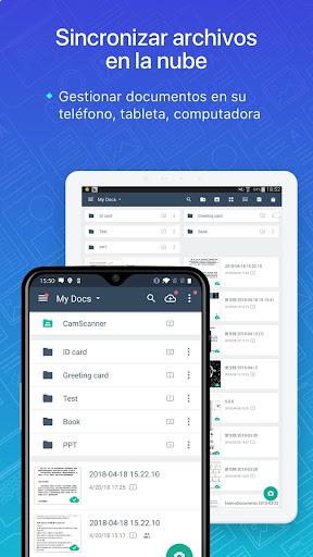 CamScanner Escáner PDF, Escáner de documentos screenshot 6