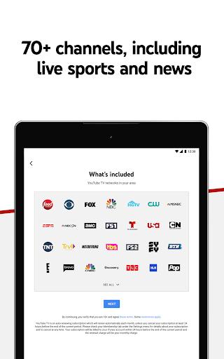 YouTube TV: Live TV & more screenshot 7