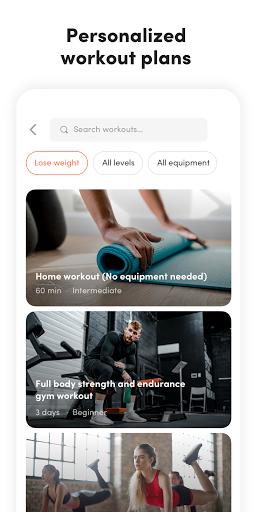 Virtuagym Fitness Tracker - Home & Gym screenshot 3
