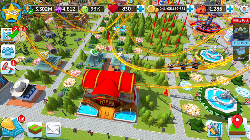 RollerCoaster Tycoon Touch - Build your Theme Park screenshot 8