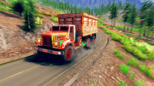Asian Truck Sim 2020: juegos de conducción screenshot 1