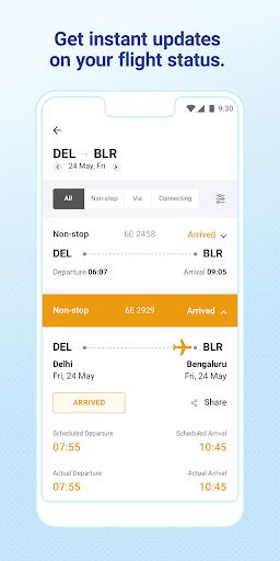 IndiGo-Flight Ticket Booking App 6 تصوير الشاشة